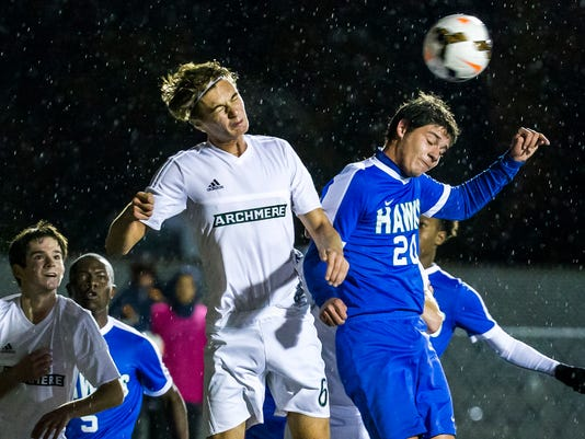 Archmere vs St. Georges Boys Soccer