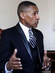 Pastor Derrick Johnson