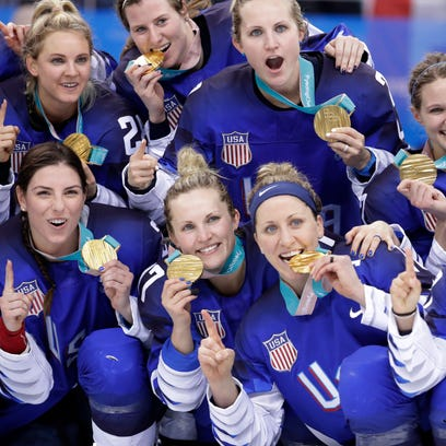 Dream comes true for U.S. women's hockey, fans across America