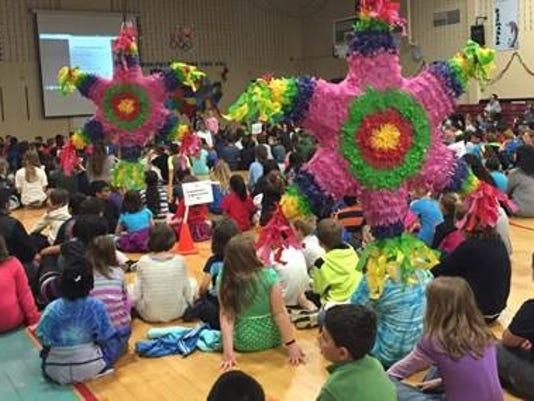 Desmares School Cinco de Mayo celebration