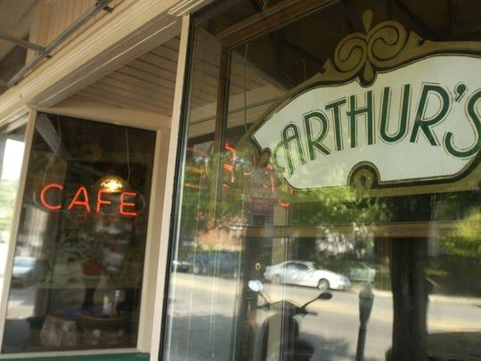 Arthur's Cafe in Hyde Park.
