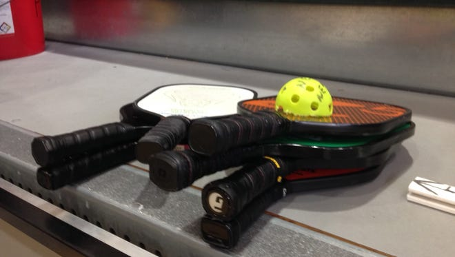 Equipment players use to play racquetball
