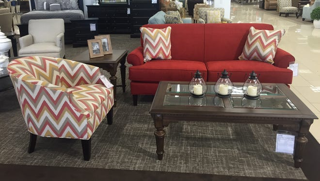 Living room furniture from the Broyhill Collection. Available at Younkers department store.