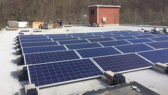 The Kentucky Coal Museum recently added solar panels to its roof.