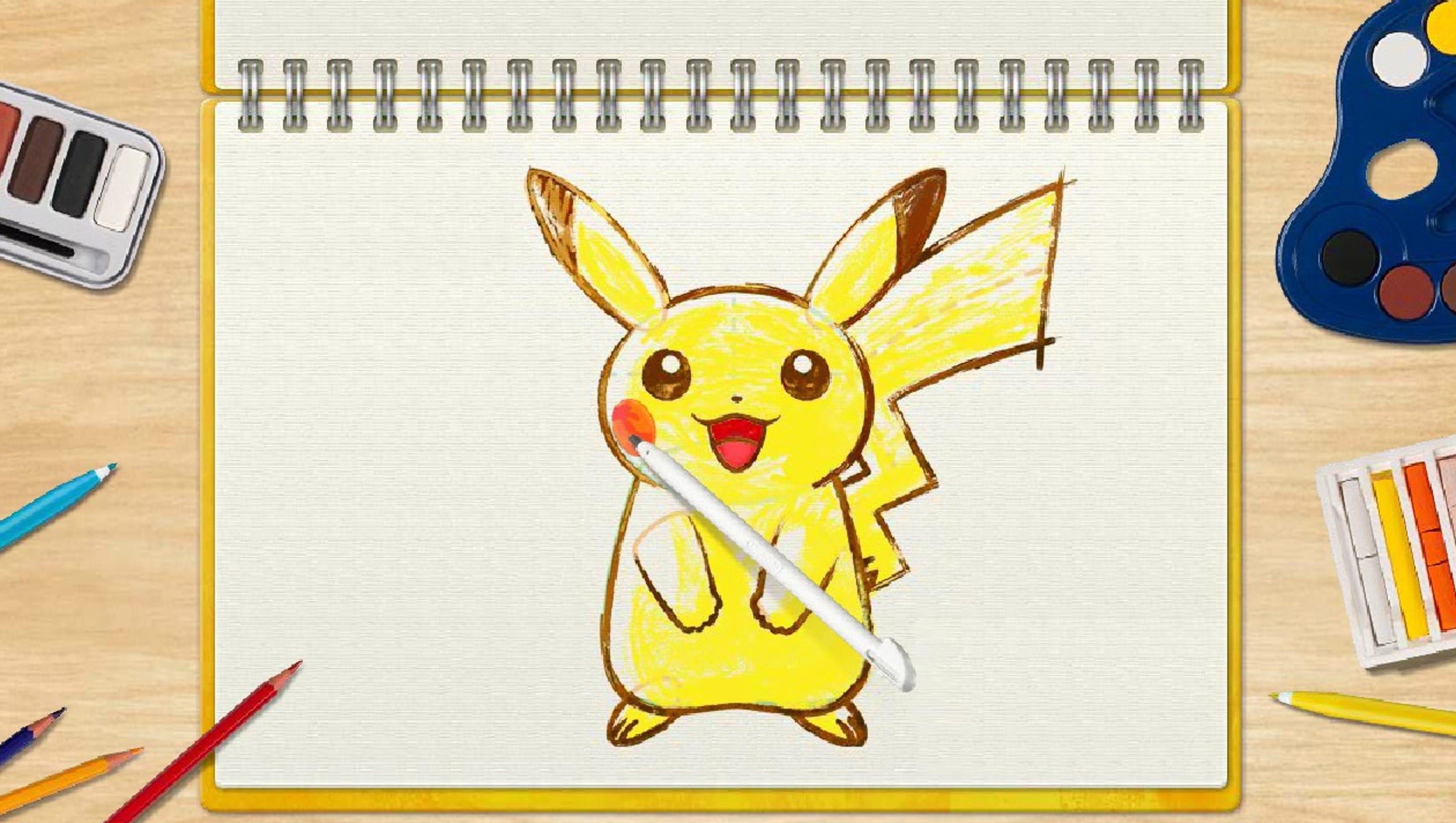 Gotta Draw Em All Pokemon Art Academy Review Technobubble