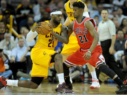 9dc337a28 Ultra aggressive  LeBron James channels  attack mode  to fuel Cavaliers