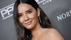 Olivia Munn is ready for her close-up at the Baby2Baby