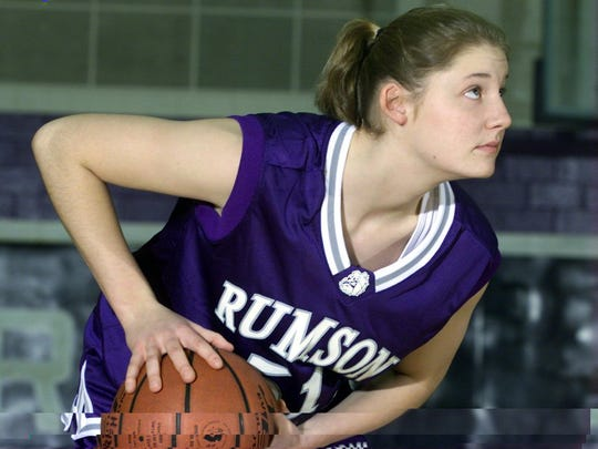 Rumson-Fair Haven's  Chrissy Fisher scored 1,775 points