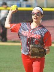 Fair Lawn senior second baseman Danielle Jurcevic is