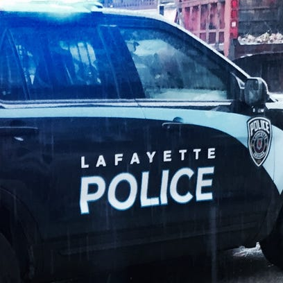 Lafayette police confiscated 10 pounds of pot found