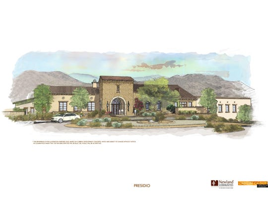 Rendering shows the Presidio, an 18,500-square-foot