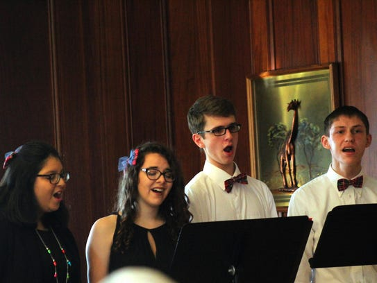 Cumberland Valley School of Music's Student Vocal Quartet