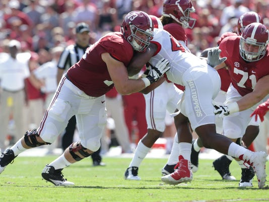 NCAA Football: Western Kentucky at Alabama