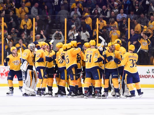 NHL: Anaheim Ducks at Nashville Predators