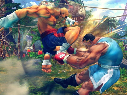 Ultra Street Fighter IV allows you to use older versions of characters from past Street Fighter IV games. Street Fighter IV Sagat, anyone?