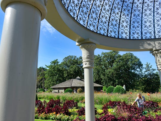 Times reporter Alyssa Zaczek counts the dome at Clemens Gardens as one of her favorite places in St. Cloud.