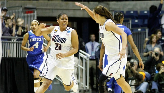 UConn is the No. 1 overall seed in the 2015 NCAA tournament.