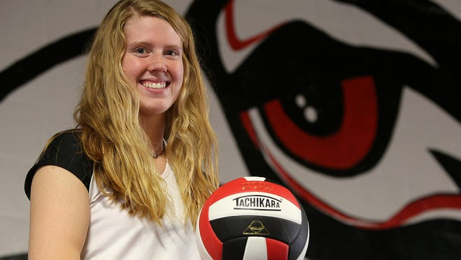 The 2016 All-West Tennessee Volleyball Hitter of the Year is South Side's Shea Dean.