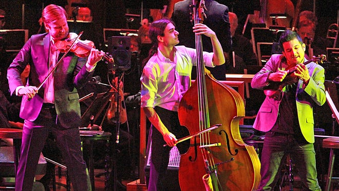 Time For Three will join the symphony on stage during Happy Hour at the Symphony — Beethoven Meets Coldplay on Jan. 15.