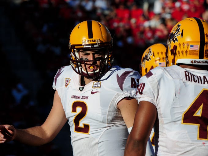 In the Pac-12, most of the starting quarterbacks are
