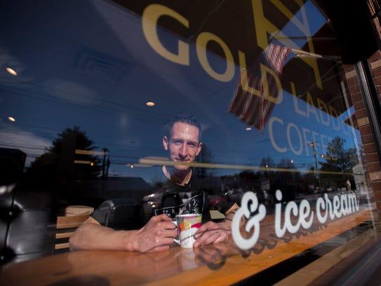Kyle Goldberg, founder of Gold Ladder Coffee off Susie