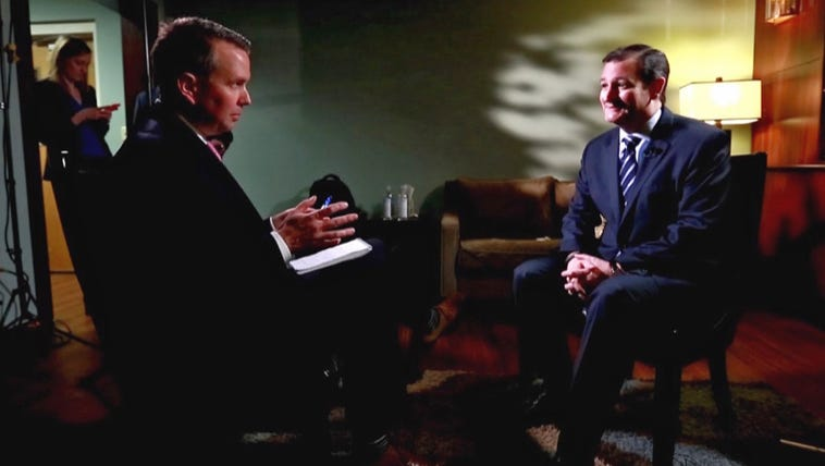 Sen. Ted Cruz discussed his quest for the White House