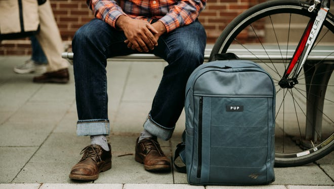 The first launch of the Amtrak Collection designed by PUP includes slate blue luxury leather bags. The collection has totes, backpacks and a dopp kit. Approximately 2,500 bags are expected to roll out in small-batch releases during the next 10 to 12 months.