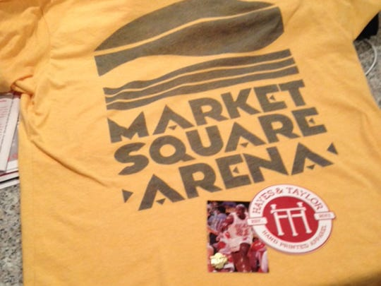 New Market Square Arena shirt from Hayes and Taylor.