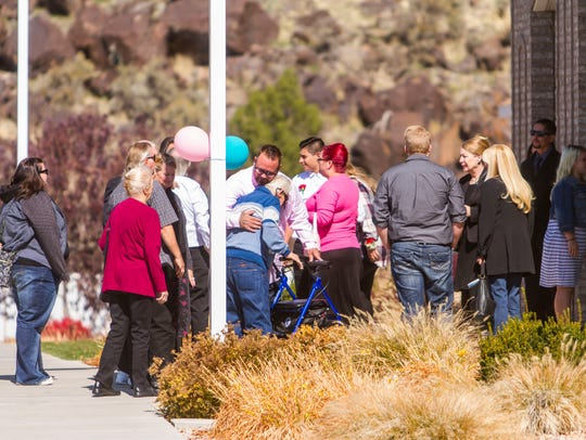 Family and friends gather for Heather Alvarado's funeral