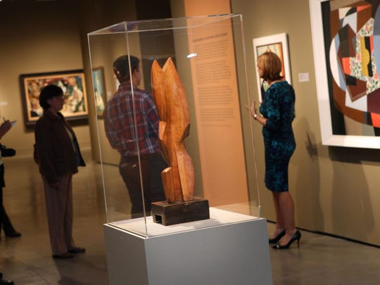 """Delaware Art Museum exhibition, """"American Moderns, 1910-1960: From O'Keeffe to Rockwell,"""" charted the development through Cubism, Abstractism, Regionalism and Abstract Expressionism."""