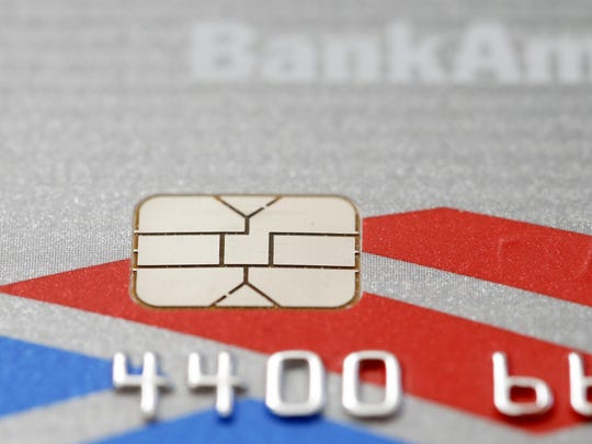 This chip-based credit card is one of several with computer chips putting the squeeze on small businesses.