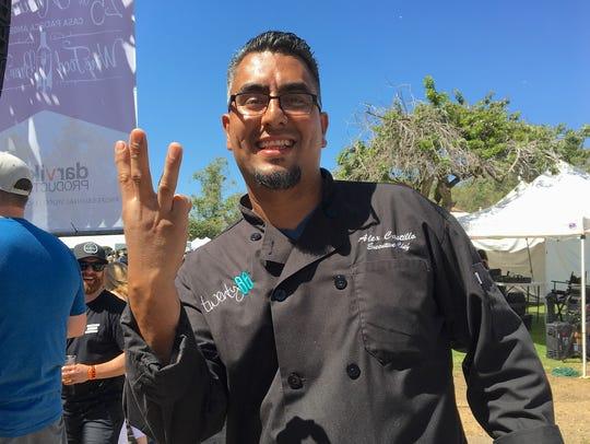 Alex Castillo, executive chef at Twenty88 in Camarillo,