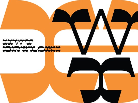 """The Hamilton Wood Type Legacy Project typeface """"HWT"""