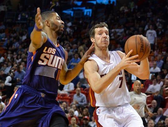 NBA: Phoenix Suns at Miami Heat