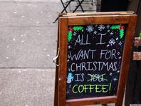 CHRISTMAS IN JULY: All I want is Coffee