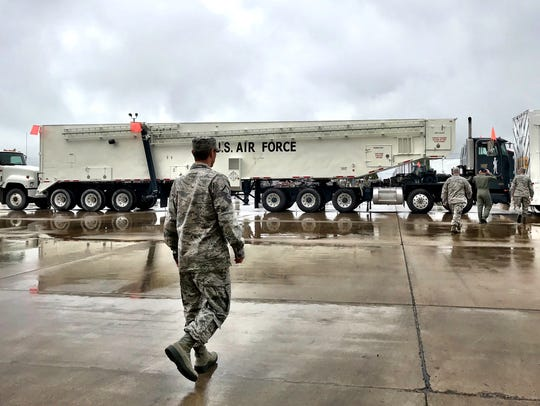 Malmstrom Air Force Base's primary charge is maintaining