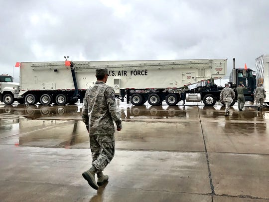 Malmstrom Air Force Base's primary charge is maintaining the missiles surrounding Great Falls.