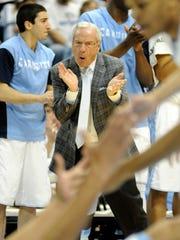 USP NCAA Basketball_ Pittsburgh at North Carolina