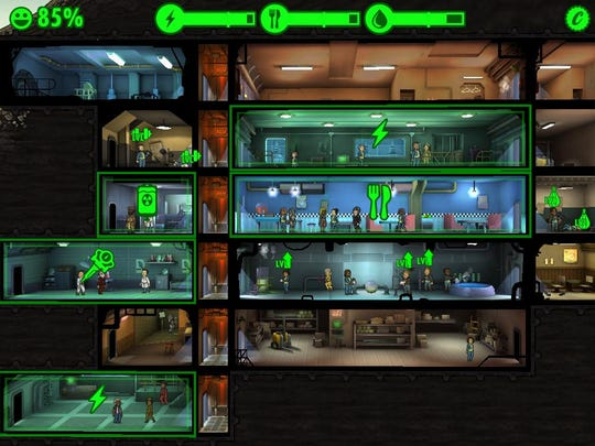 Manage and build your own underground bunker in the Fallout Shelter app.
