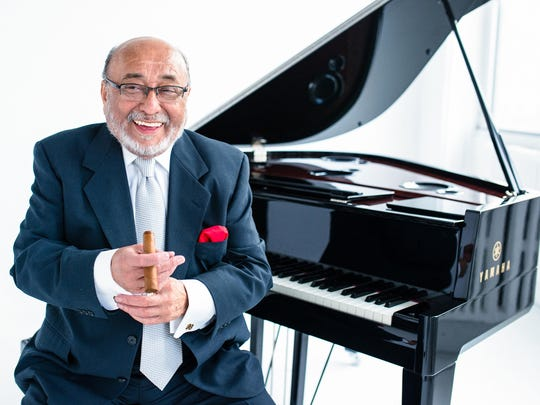Eddie Palmieri, 79, promises a fierce performance on Sunday with his salsa orchestra.