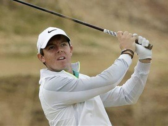 Despite recovering from an ankle injury, Rory McIlroy
