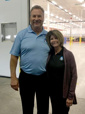 Great Lakes HPP Innovation Food Center  in Taylor had a grand opening on Thursday, April 5, 2018. Jack and Annette Aronson