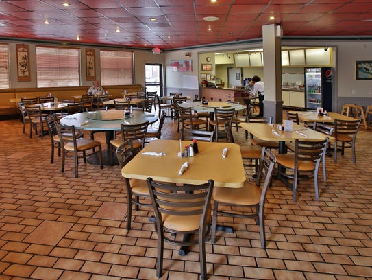 The interior of Silver Dragon restaurant as seen in Phoenix on Dec. 16, 2014.