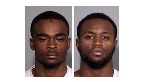 Larry Taylor (left) and Jalen Watson (right) were arrested in connection with the Amanda Blackburn slaying.