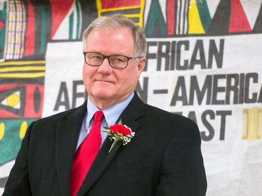 State Sen. Scott Wagner was honored during the recent African/ African-American Love Feast and Recognition Dinner XXIV. Wagner's advice to youth is to get a good education and don't be afraid to ask questions.