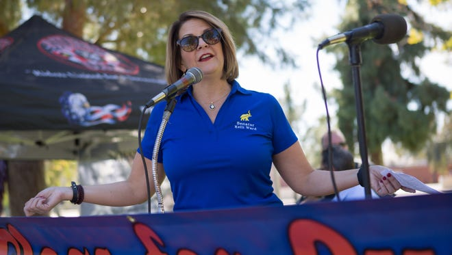 Kelli Ward, a former state senator, is challenging incumbent U.S. Sen. John McCain in the Arizona's 2016 Republican primary.