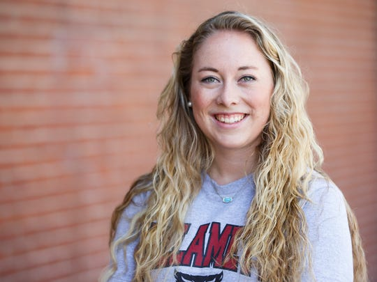 Willamette University student Kate Steffy, 21, took part in the university's Reforming Criminal Justice class last spring. Students of the class spent every other week at the Oregon State Penitentiary working with adults in custody.