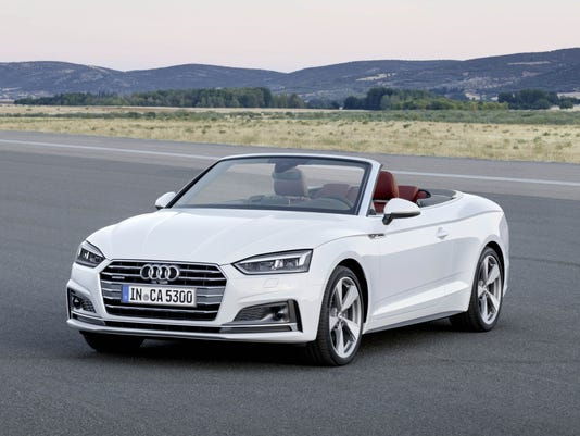 Photos: 2018 Audi A5 and S5 Cabriolet
