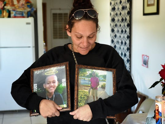 Melissa Ramos, mother of 14-year-old Devin Minus, remembers