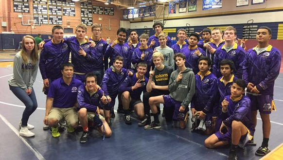 North Henderson won Saturday's Rams Duals tournament